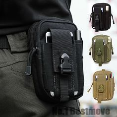 Outdoor-Camping-Hiking-Pouch-EDC-Tactical-Waist-Fanny-Pack-Belt-Bag-Wallet-Phone