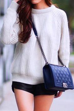 Chanel Le Boy handbag in navy Chanel Bag Black, Chanel Le Boy, Coco Chanel d8a5458b3a
