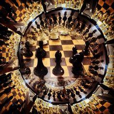 Caleidoscópio Xadrez #xadrezvalle #xadrezarte XadrezValle.com.br