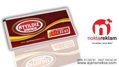 Islak Mendil Tasarımı - AYYILDIZ Pasta-Cafe-Bistro
