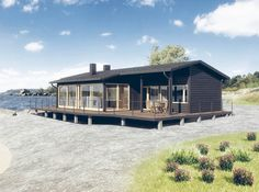 Exterior Design, Interior And Exterior, Black Shed, Pole Buildings, Weekend House, Cabins In The Woods, Home Fashion, Tiny House, Beach House