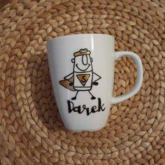 #Kubek #super szefa #boss #mug #mugs Boss, Tableware, Dinnerware, Tablewares, Dishes, Place Settings