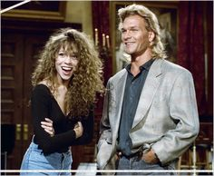 Mariah Carey and Patrick Swayze