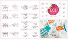 PRE-ORDER Sugar Stamp Sheet - E01
