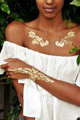 Azteca Chic Foot Jewelry | Bikini.com