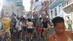 FESTA DO 2 DE JULHO - DESFILE DOS CABOCLOS - Ladeira do Carmo - Salvador...