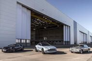 Aston Martin St Athan plant on course to lead charge for electrification  The Aston Martin DBX (centre) will be produced at St Athan from 2019  Ex-Ministry of Defence site in Wales is into second phase of its conversion from three super-hangers into a manufacturing facility  Work on Aston Martins St Athan plant in Wales has now entered its second phase meaning the brand is on course to convert the ex-Ministry of Defence site's three super-hangers into a production facility in time for DBX…