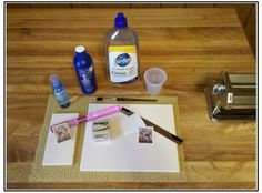 image transfer to polymer clay | polymer clay transfer with water