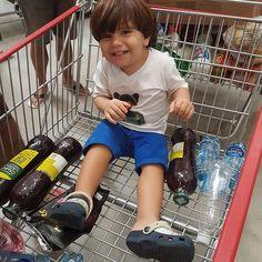 Encontrei na prateleira do mercado e tô levando... 😂😂😂 #babydicas #DomingoNoMercado #saudadedequandoeracriança