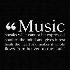 If music is grad theme, this would be a great quote to have around!