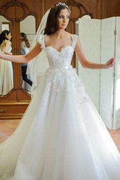 Stunning Steven Khalil wedding dress