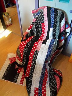 Jelly roll race quilt #3