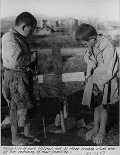 The conditions under           which Greek children lived in 1945 were devastatingly harsh and painful.           Starvation was a part of everyday life for a child, many children were           orphaned, and eighty-five percent suffered from a terrible lung disease,           tuberculosis.