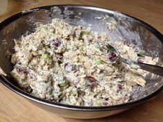 Best chicken salad in the world (Aunt Tina's Chicken Salad)