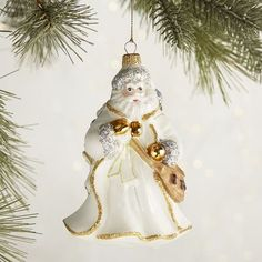 European Glass Santa Ornament | Pier 1 Imports
