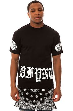DFYNT Tee The Paisley Drop in Black $48 USE CODE NEWGEAR14 for 20% OFF!