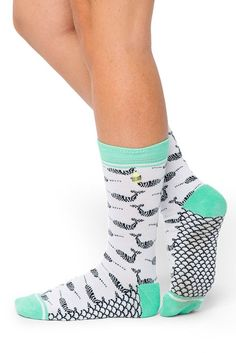 Need Narwhal? - adorable narwhal socks by Woven Pear - Spring is here, it's time to wear some cute socks.