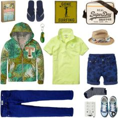 Tropical colours for boys | www.eb-vloed.nl