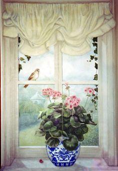 Trompe L'Oeil Windows and Niches | Trompe L'Oeil