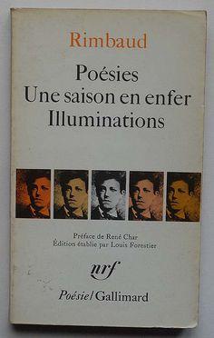 Rimbaud: Poésies - Une saison en enfer - Illuminations by alexisorloff, via Flickr