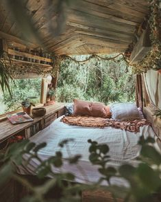 I've shared my plans of van living with a friend. We spend every waking moment e… I've shared my plans of van living with a friend. We spend every waking moment exchanging ideas and inspo. She is sold on the idea of tiny living. Bus Life, Camper Life, Camper Van, Bus Living, Tiny Living, Caravan Living, Van Interior, Interior Exterior, Kombi Trailer