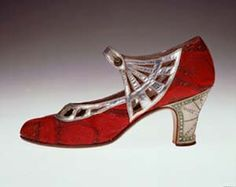 Shoes 1920's, because red is drop-dead fabulous on any foot forward. source: http://fashionart.onsugar.com/tag/Paul-Poiret