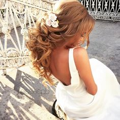 Gallery: ELSTILE long wedding hairstyle - Deer Pearl Flowers