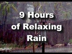 """Rain Sounds : 9 hour long Raining """"Sleep Sounds"""" :) When all else fails, this puts the little boys to sleep!"""