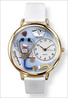 Nurse Hand-Crafted Watch by Woman Within