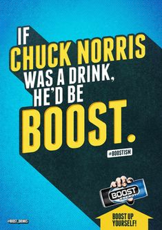 Boost Energy Drink: Chuck