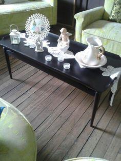 La mesa de blanco!