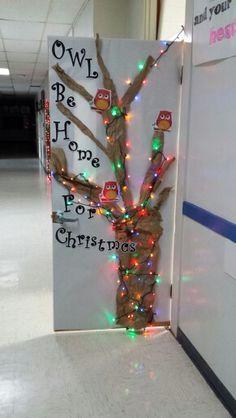 My classroom door for Christmas!