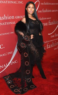 Red hot! The singer wears a sexy ensemble to the2016 Fashion Group International Night Of Stars Gala in New York City.