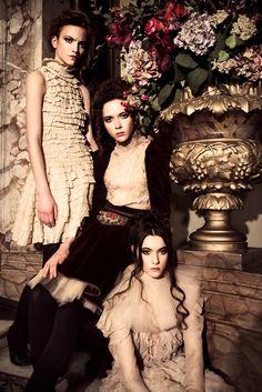 Once upon in a Fairytale - Inspiration. Anna, Liza, Olesya for Dorohins Magazine by Denis Kanovec Modern Photographers, Anna, Magazine, Portrait, Wedding Dresses, Fairytale, Model, Editorial, Hair