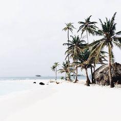 Tropical views of San Blas Island // via @laurenswells