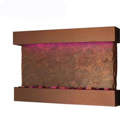 Bluworld Medium Horizon Falls Wall Fountain - Copper Vein  WWMH-CV