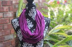 No Sew Sweater Knit Looped Scarf