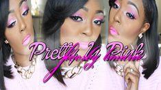 Pretty In Pink Makeup Tutorial (Reupload) Ft Tella Glam