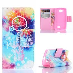 Amazon.com: Yakamoz Colorful Dream Catcher Dreamcatcher Leather Flip Card Slots Wallet Stand Case for LG Optimus F60, LG Transpyre, LG Tribute LS660 with Free Screen Protector & Stylus Pen: Cell Phones & Accessories