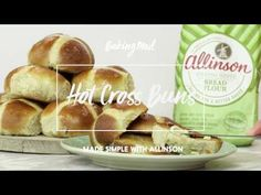 Hot Cross Buns by Allinson - BakingMad.com