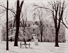 Wren Building at The College of William & Mary, Williamsburg, Virginia, USA