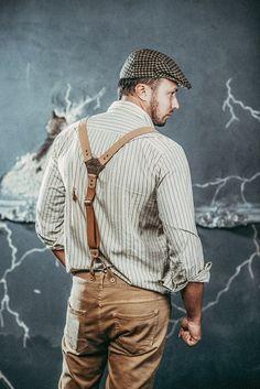 Groomsmen suspenders Groomsmen braces Leather braces for groom Wedding leather braces men Beige leat