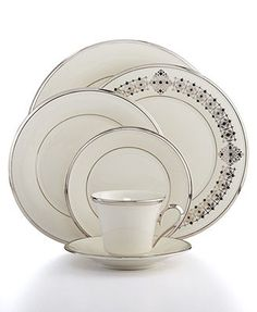 Lenox Solitaire Collection... My china set, do I want more to seat 12?