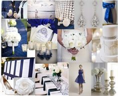 Peacock Royal Blue and Silvery White Color Board   Details Details - Wedding and Event Planning