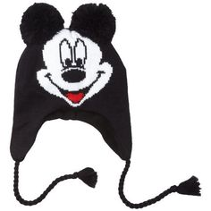d1e3f208c76 Disney Men s Mickey Big Face 3D Peruvian Hat