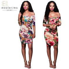 US $12.88     Get Stylish Clothes On A Budget!     FREE Shipping Worldwide     Buy one here---> http://ebonyemporium.com/products/the-new-womens-clothing-printed-with-a-word-fashionable-five-point-sleeves-short-fashion-slim-sexy-nightclub-female-dress/    #minidresses