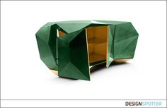 From Marco Costa (Portugal): Diamond Sideboard Green Emerald