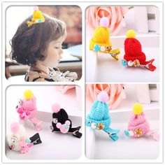 12X Snap Hair Clip Hairpin Barrette Headwear Accessories For Baby Girls Children