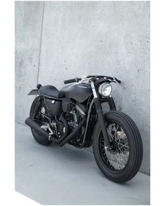 Harley Davidson Sportster 883 Cafe Racer by Wrenchmonkees #motorcycles #caferacer #motos | caferacerpasion.com