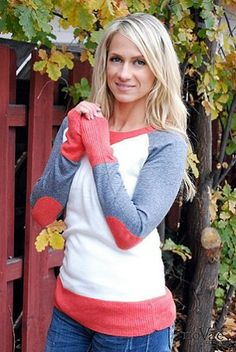 LOVE this Elbow Patch Sweater from NoVaeClothing.com! And it's 50% off!